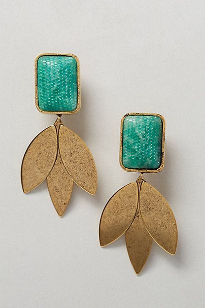 Vernal Earrings #anthropologie