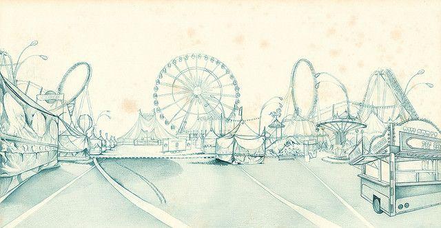 Ilustracion sin color, M A L A V A R O by María Domestica (La Sukita), via Flickr