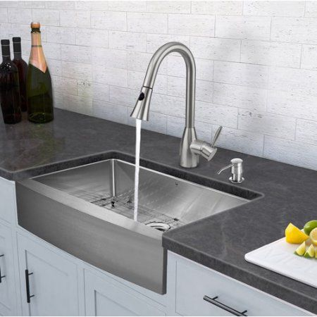 Home Improvement In 2020 Single Bowl Kitchen Sink Farmhouse