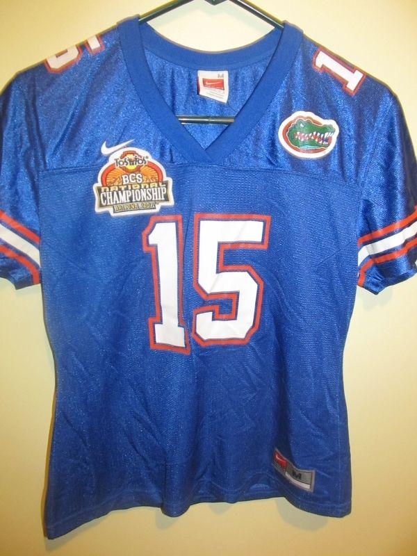 lowest price d4117 f0e19 Tim Tebow - Florida Gators Championship football jersey ...