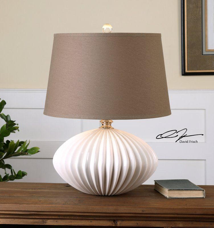 Shand 25 Table Lamp White Table Lamp Table Lamp Round Table Lamp