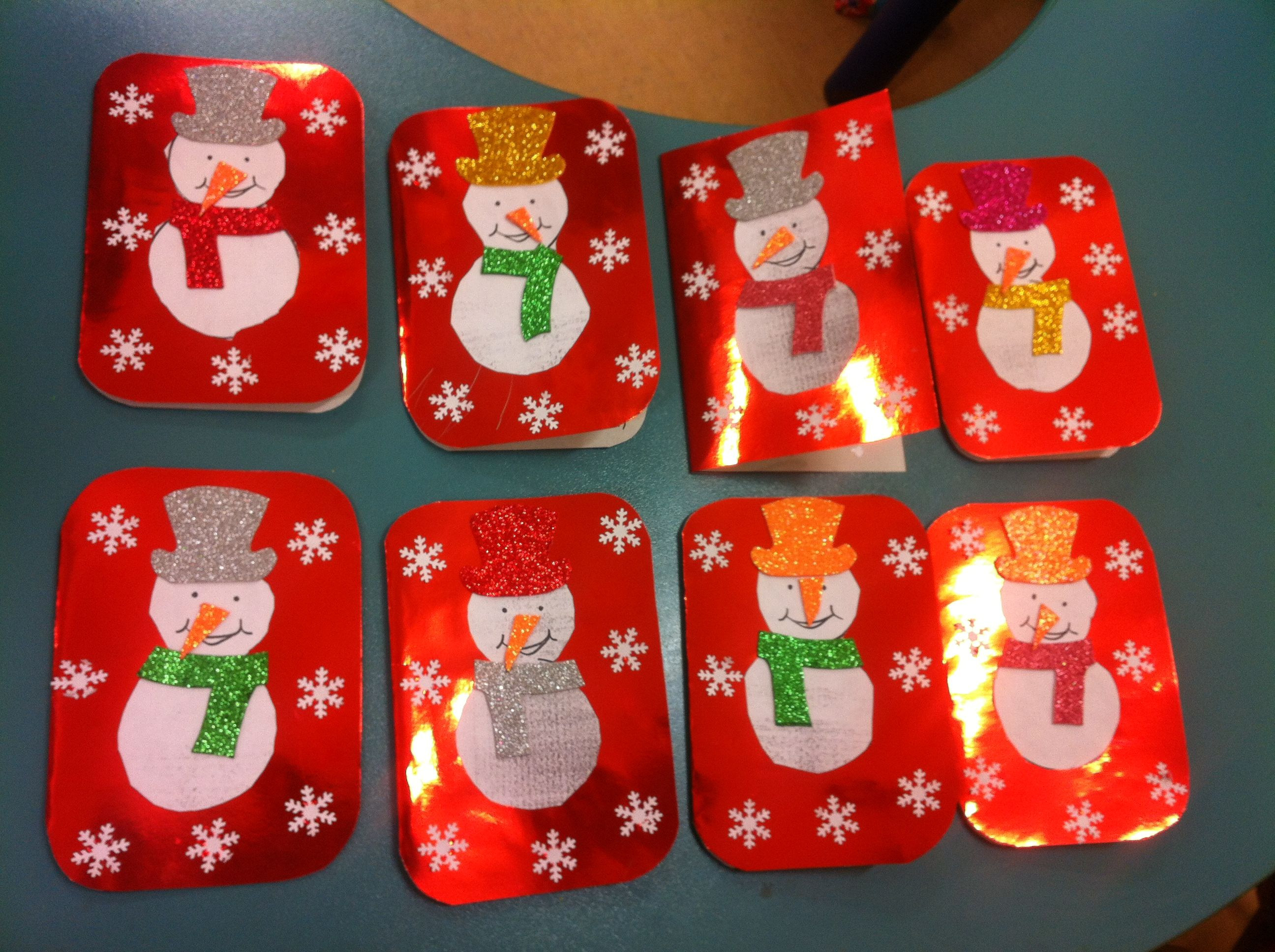 Christmas Card Making Ideas Free Part - 46: Winter Craft Idea For Kids U2013 Crafts And Worksheets For Preschool,Toddler  And Kindergarten