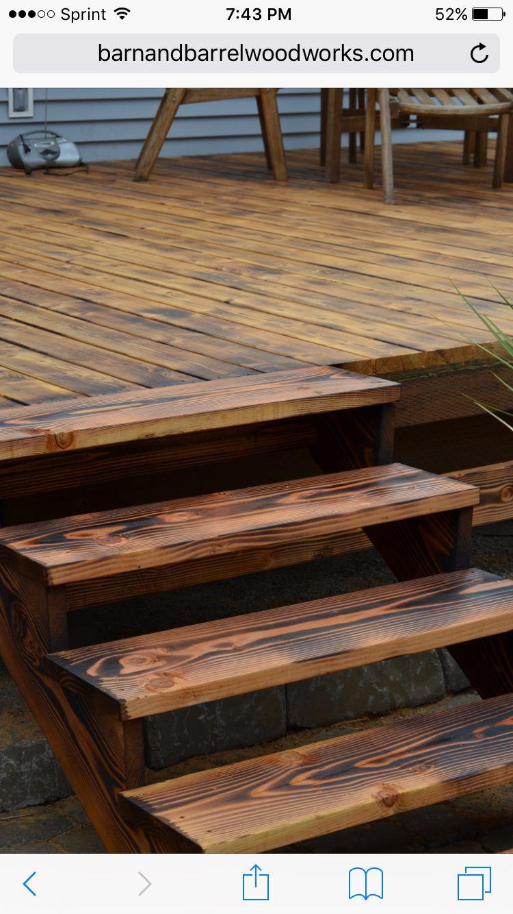Outdoor Deck Torched Outdoor Deck Wood Pool Deck Outdoor Deck Decorating