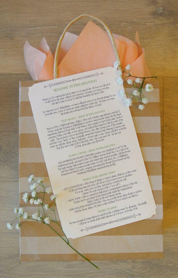 Custom Wedding Welcome Letter Printable Diy By Sangriastudios