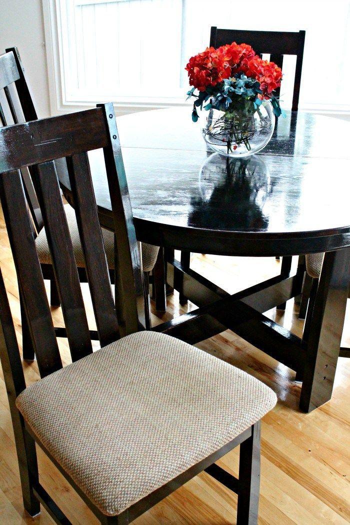Diy Table Refinishing Refinish Dining