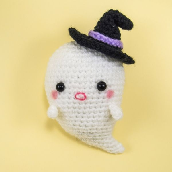 Boo The Ghost Amigurumi Amigurumi Pattern | amigurumi Halloween ...