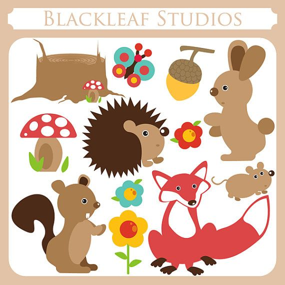 This Item Is Unavailable Etsy Animal Clipart Woodland Animals Clip Art