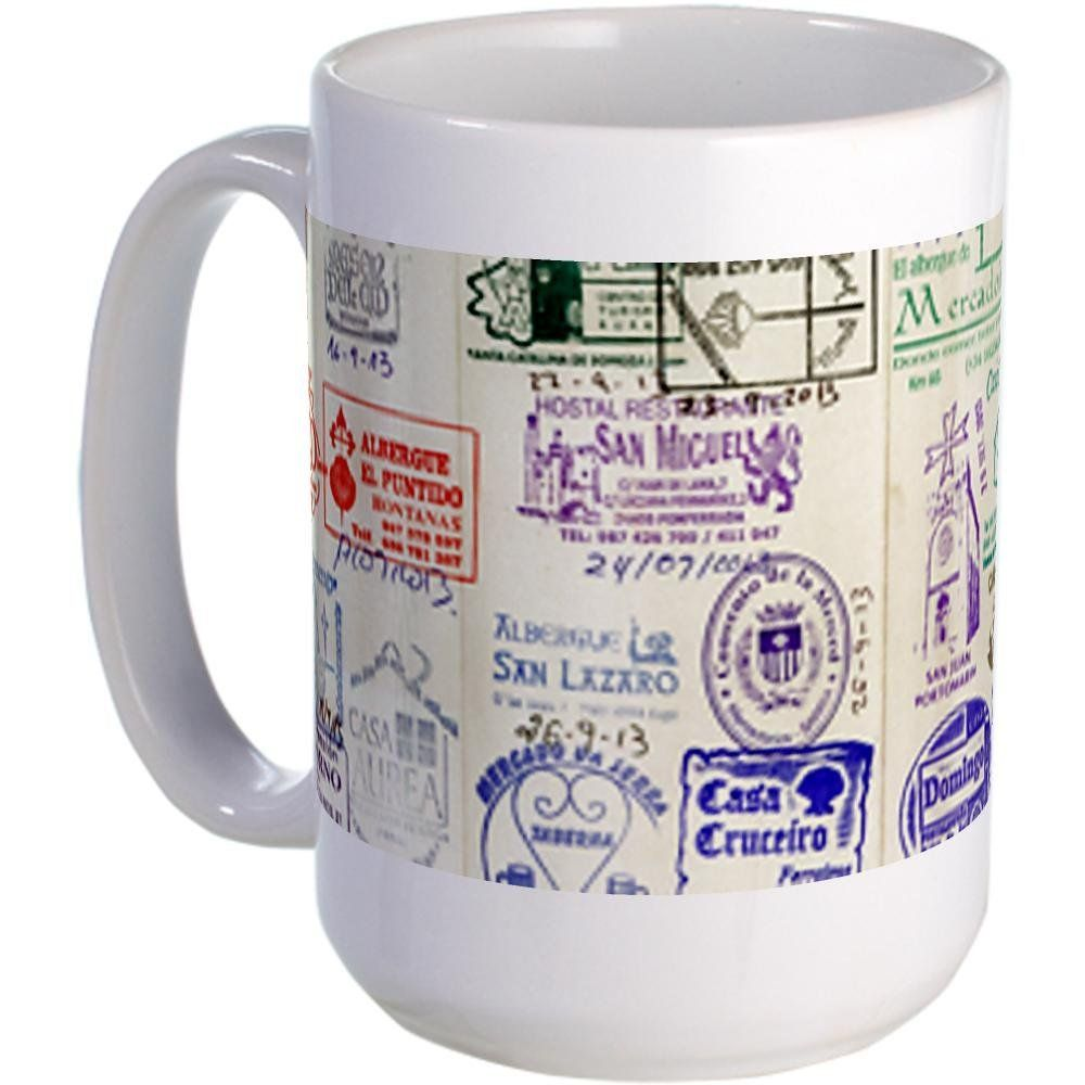 Cafepress 15 Ounce Camino De Santiago Mug Large Standard Remarkable Product Available Now Coffee Mugs