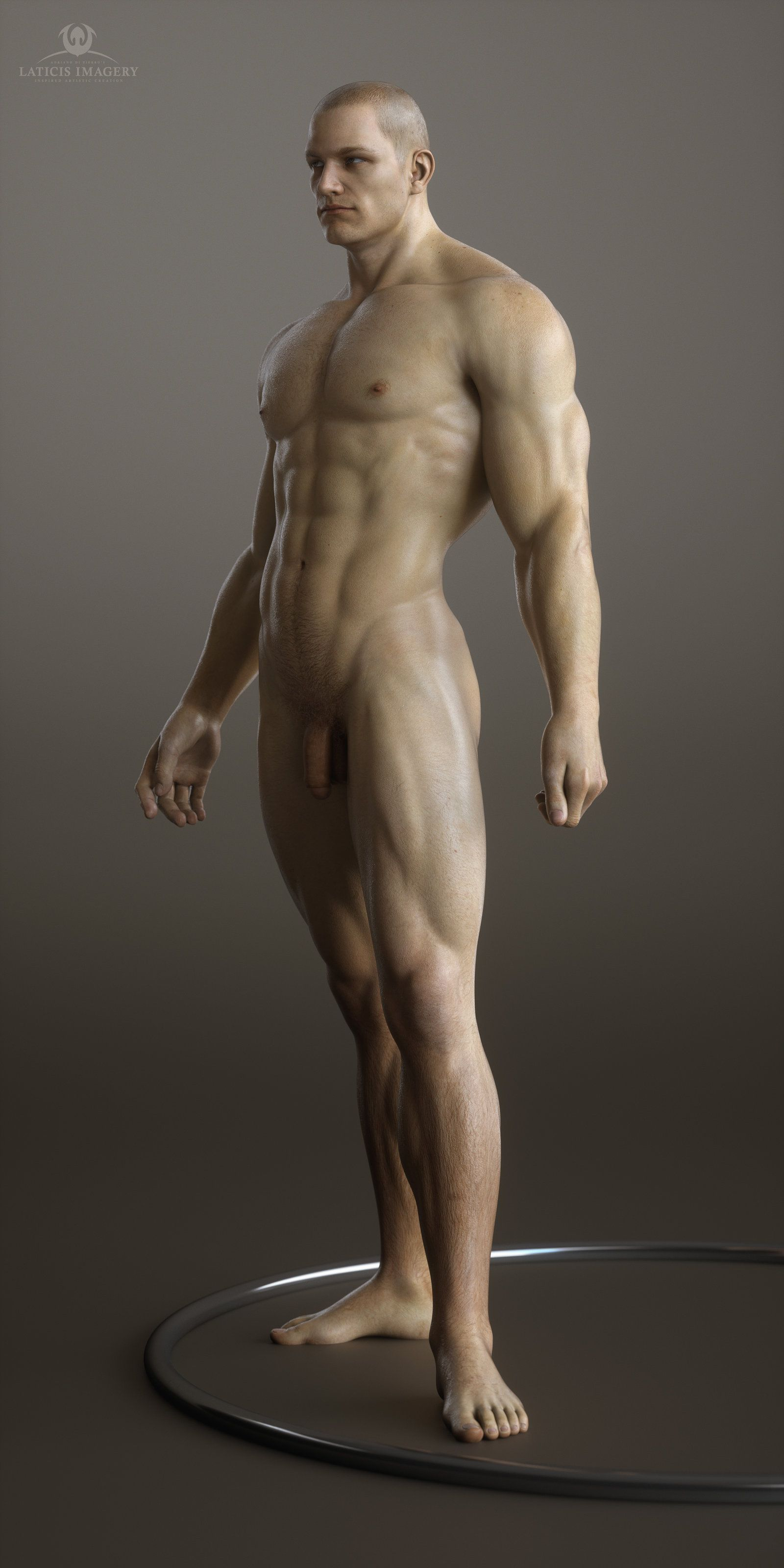 Another Male Form By Laticis On Deviantart  3D Muscle -2171
