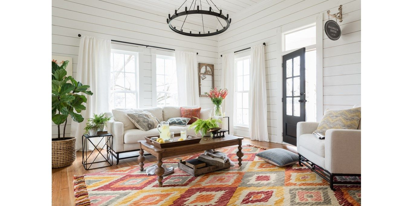 Pin By Hadinger Company Of Naples On Floor Fun Joanna Gaines Living Room Magnolia Home Rugs Rugs In Living Room