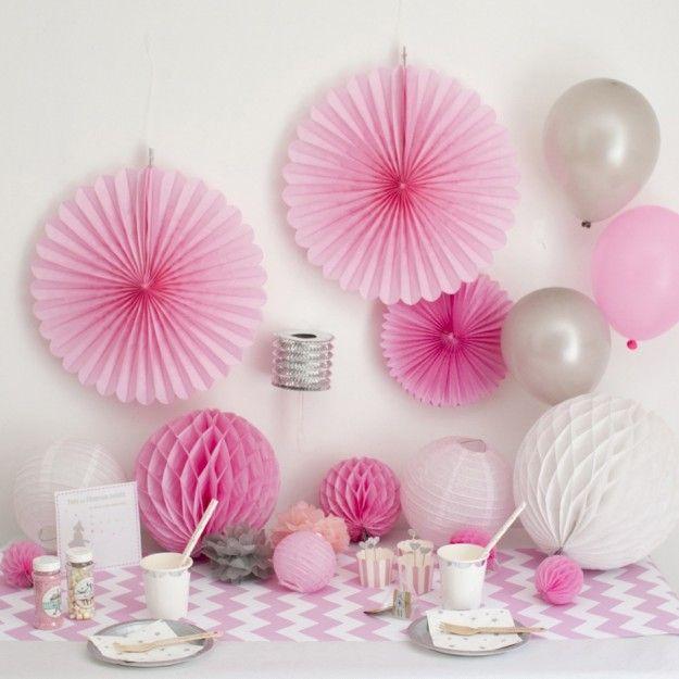 decoration anniversaire fille ballerine