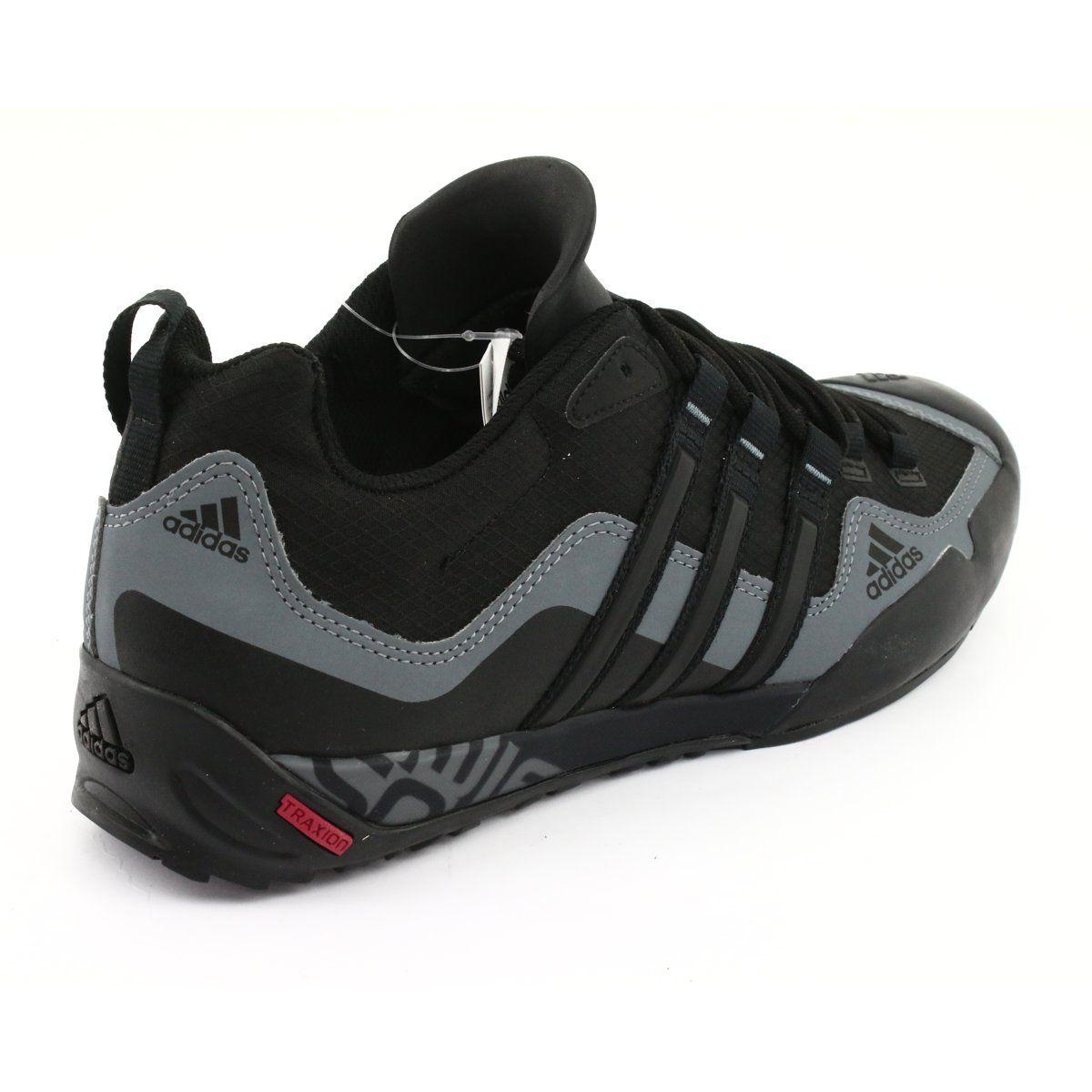 Buty Adidas Terrex Swift Solo M D67031 Czarne Szare Sports Shoes Adidas Sports Footwear Black Shoes