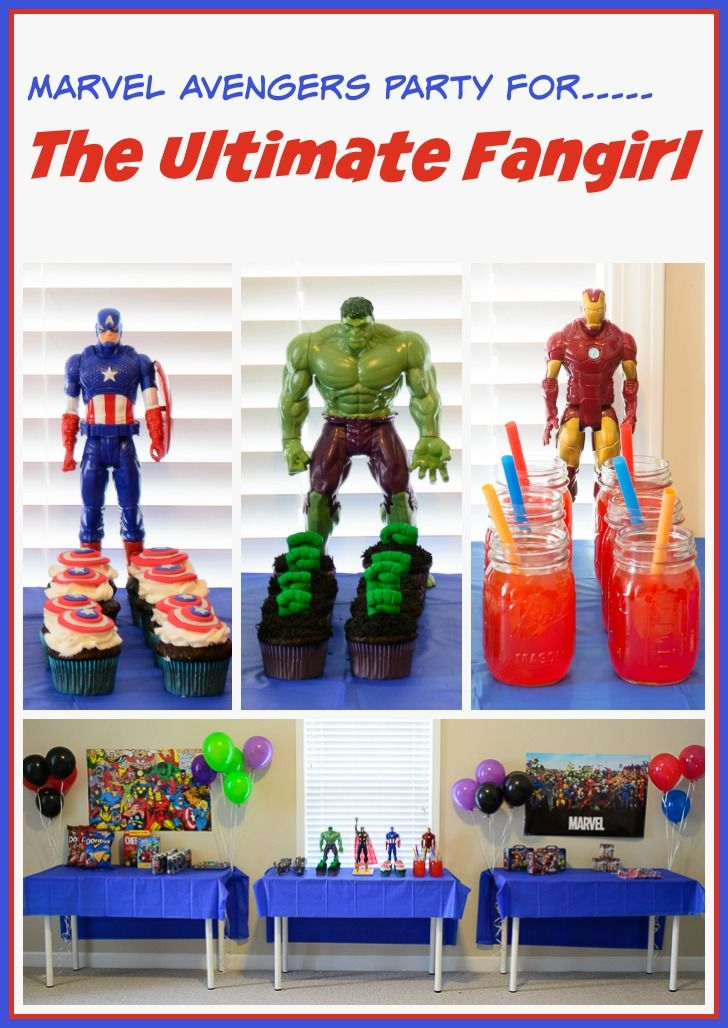 Marvel Avengers Easter Party Ideas Food decorating Easter party
