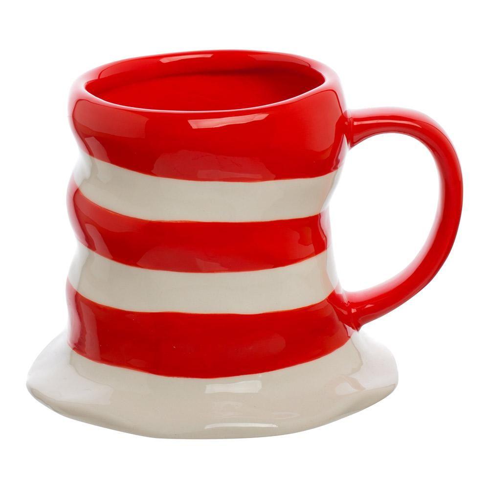 Dr. Seuss The Cat in the Hat 16 oz. Sculpted Ceramic Mug