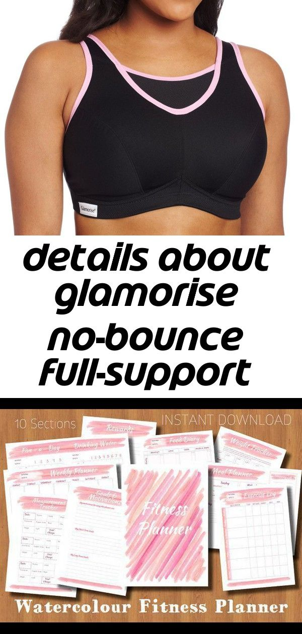 Details about glamorise nobounce fullsupport sport bra 1066 1 This approach seems to be looking highquality weight loss dinner The Doctors Diet by Dr Travis Stork 2014 Fo...
