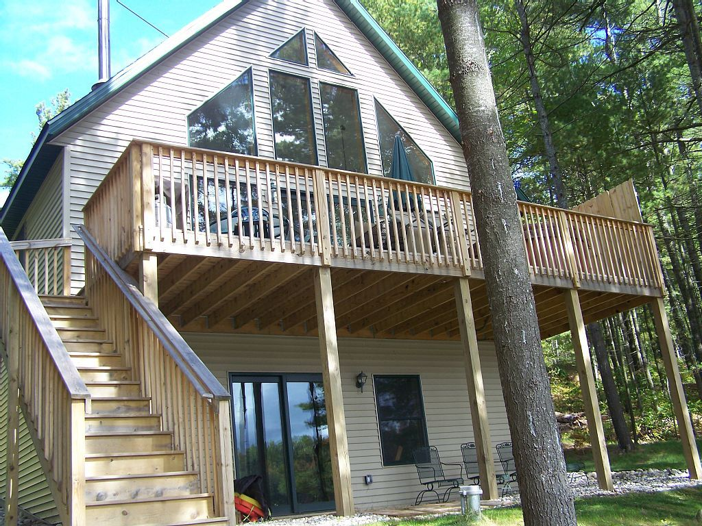 Chalet Vacation Rental In Lake Arrowhead Gaylord Mi Usa From