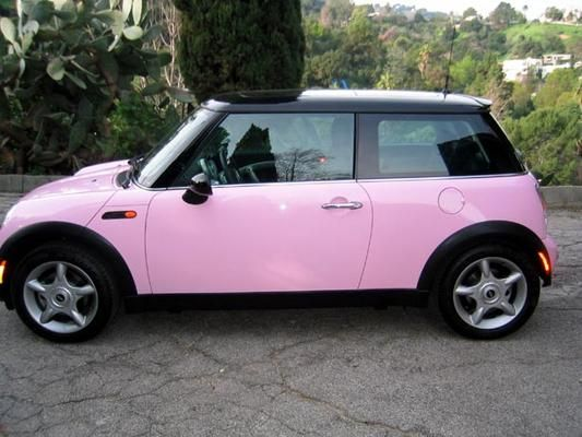Get It In Pink Everything Pink Pink Mini Cooper Pink Mini Coopers Pink Car Mini Cooper
