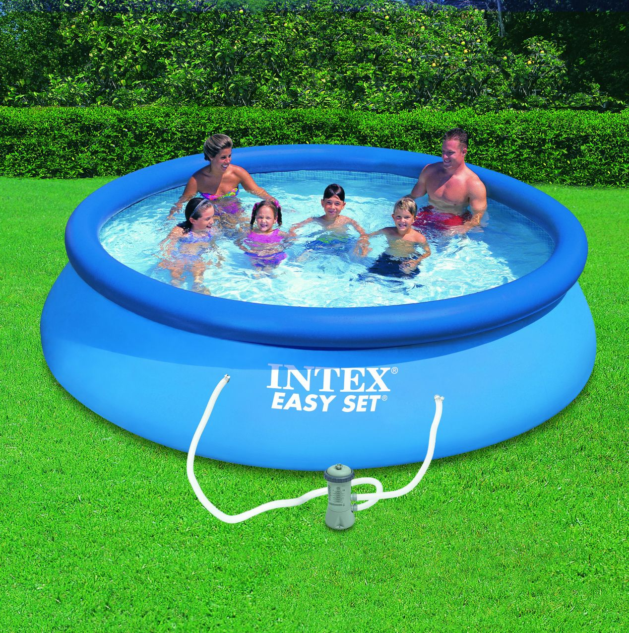 28 Liner Piscine Hors Sol 4m60 2018 Easy Set Pools Cheap Above Ground Pool Intex
