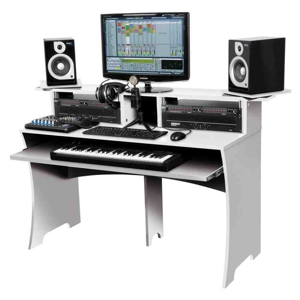 cheap recording studio desk tv studio desks pinterest studio desk recording studio and desks. Black Bedroom Furniture Sets. Home Design Ideas