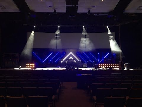 LED by the Spirit | Church Stage Design Ideas | Church stage ...