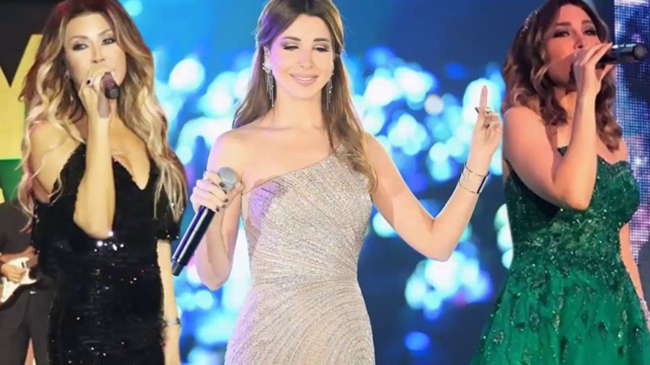 فساتين النجمات في حفلات رأس السنة 2018 شيرين واليسا بالاسود ونانسي الاجمل Fashion Prom Dresses Formal Dresses