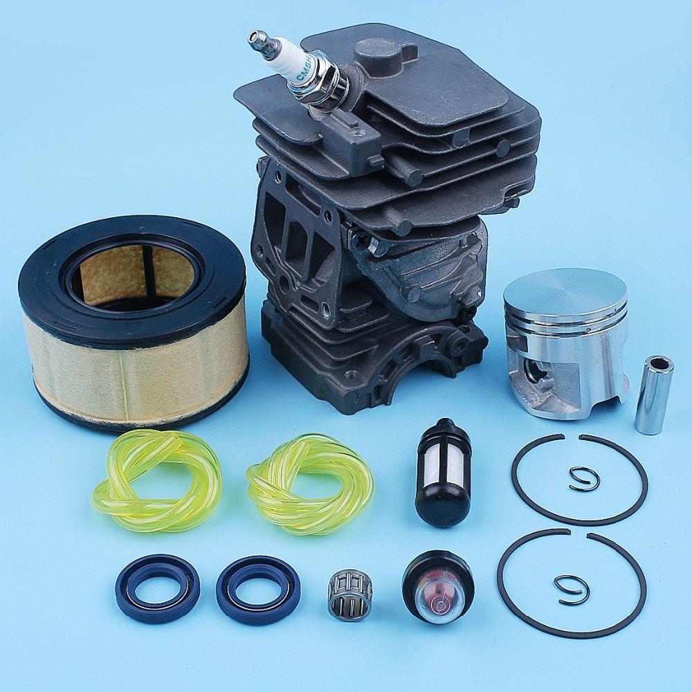 44mm Nikasil Plated Cylinder Piston Air Filter Primer Bulb
