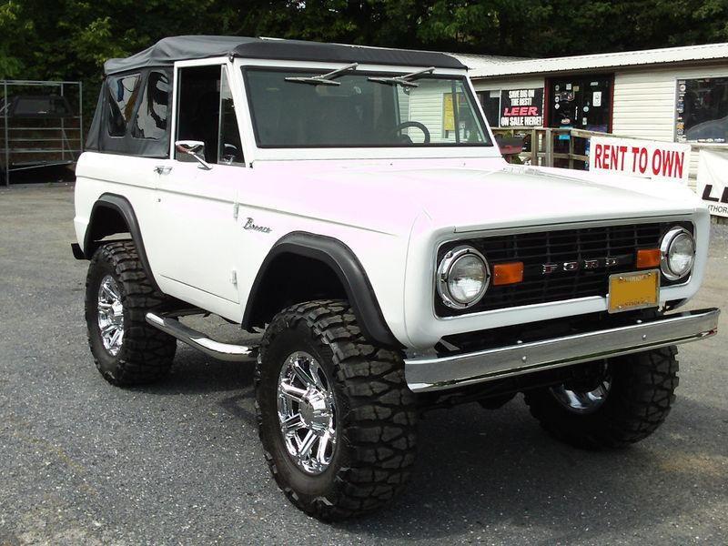 1977 FORD BRONCO CUSTOM SUV