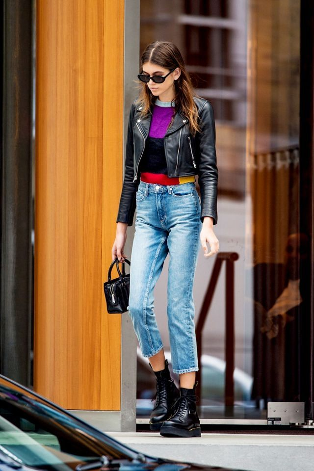 The Ankle Boot Style Fashion Girls Are Into Now Kaia Gerber Style Fashion Ankle Boots Fashion