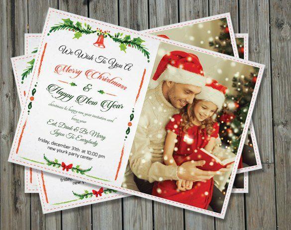 Christmas Eve Get Together Invitation Template Christmas