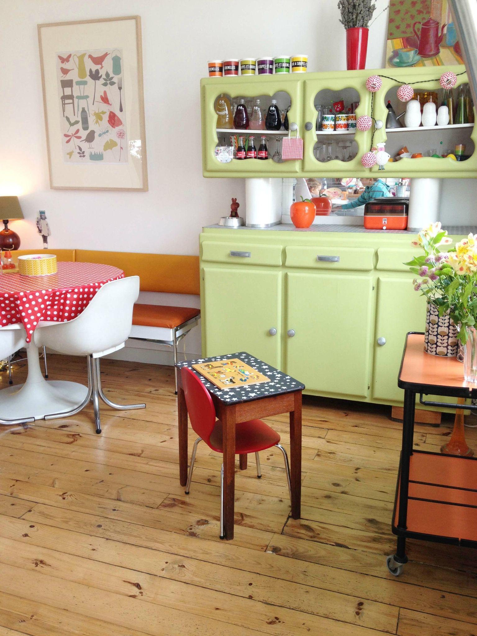 Deco Du Mercredi Ma Rue Bric A Brac Meuble Cuisine Meuble Mado Mobilier De Salon