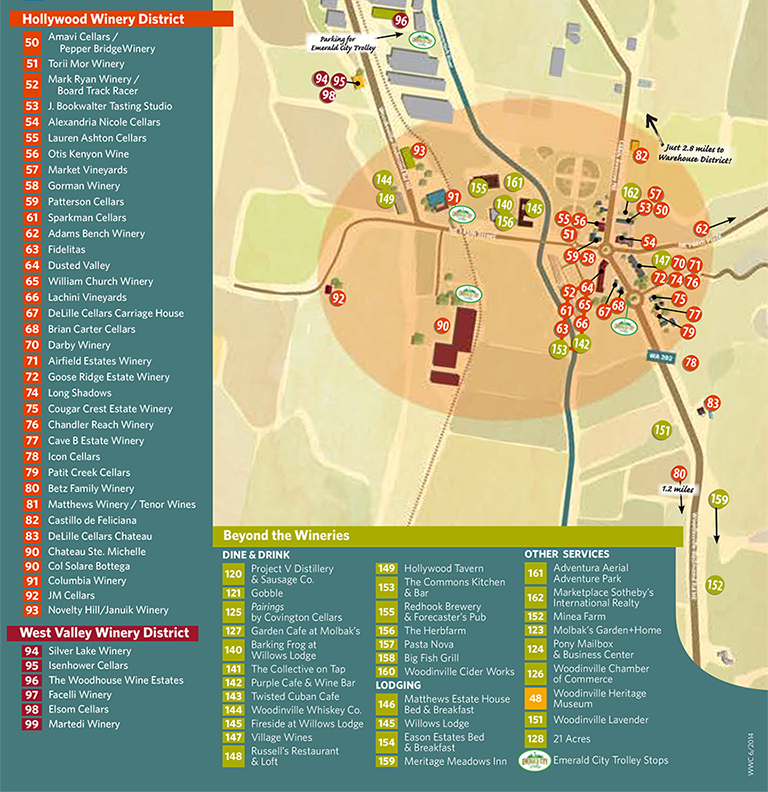 Download and print the Woodinville Wine Country map of wineries ...