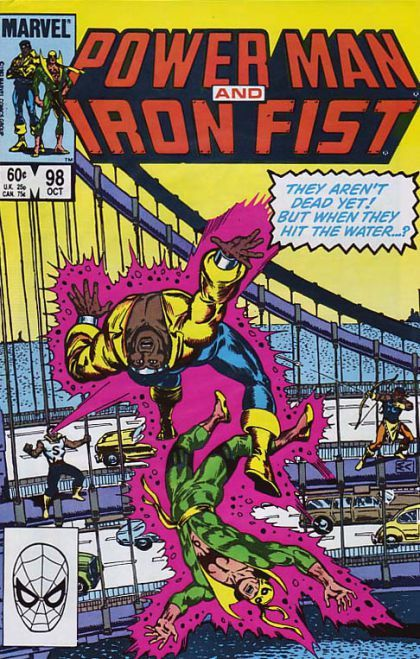 power man and iron fist comics | Power Man And Iron Fist, Vol. 1 #98 - Peril From the Past on Comic ...
