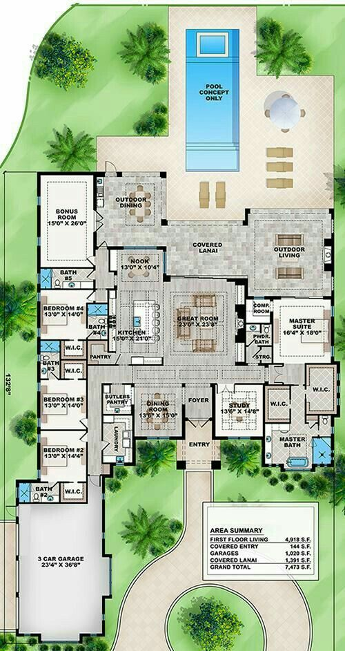 83199f39ff0a93be84edd4e058730273 (500×942) | Dream House | Pinterest |  Casas, Planos Y Planos De Casas