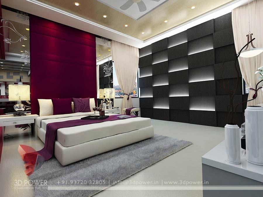3d Design Bedroom 3d High Class Architectural Interior Bedroom