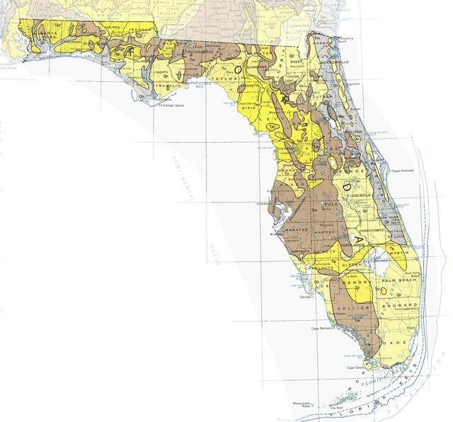 Geologic Maps Of The United States United States And Geology - Sinkhole map us