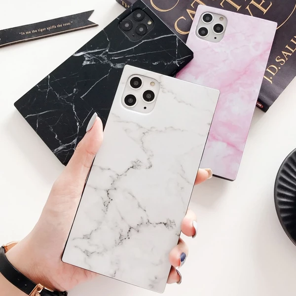Marble Texture Case For iPhone 11 Pro Max Luxury Granite Stone Soft IM – elegantonlinemarket #marbletexture