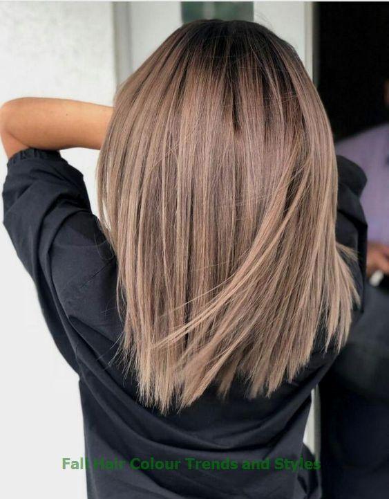 Tendances et styles de couleurs de cheveux d'automne #womenhair #trendyhairs