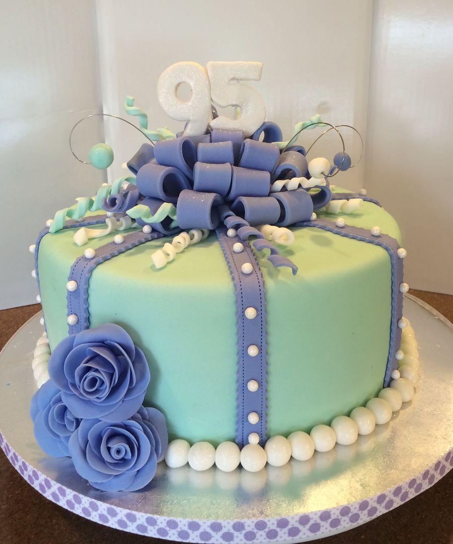 95th Birthday Cake 90th Birthday Cakes Special Birthday Cakes