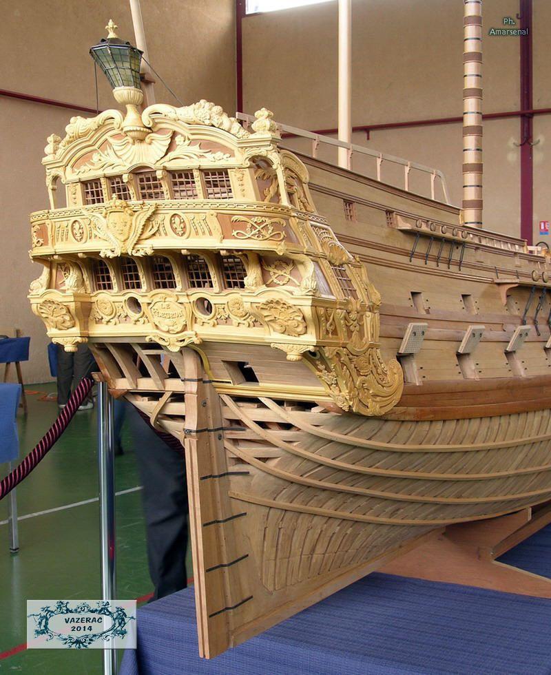 Le Fleuron 1729 construit à BREST par Joseph et Blaise Ollivier