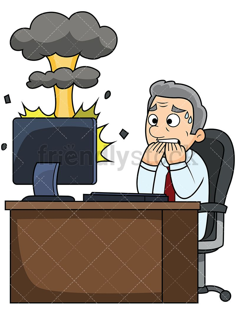 Cartoon Images Of Computer