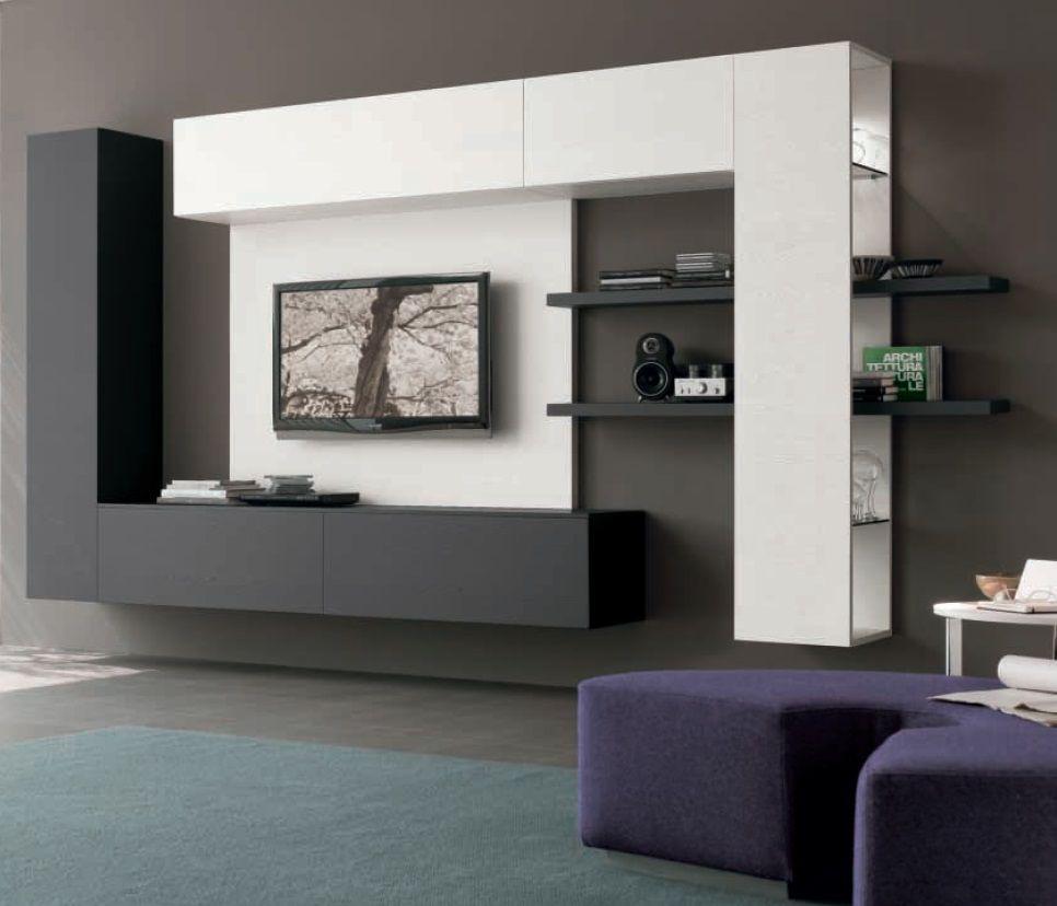 19 Impressive Contemporary TV Wall Unit Designs