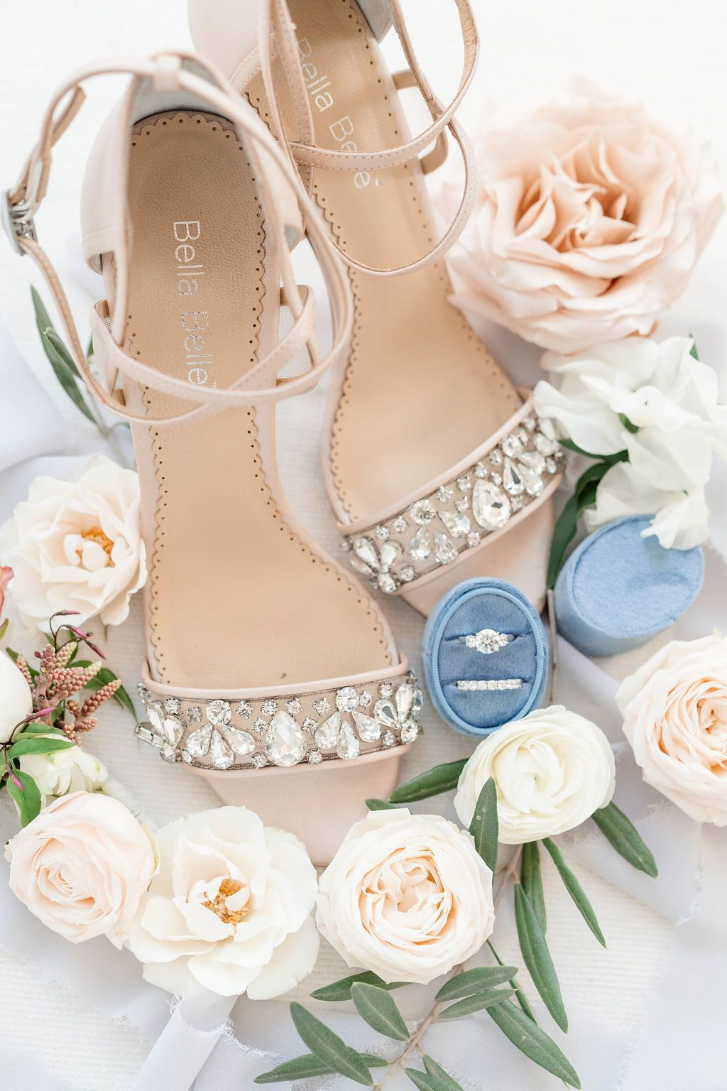 2b57d8af99a7 ... stunning to look at but even more comfortable on your feet with extra  padding. Features sparkly crystal and beads and ankle straps in a stiletto  design ...