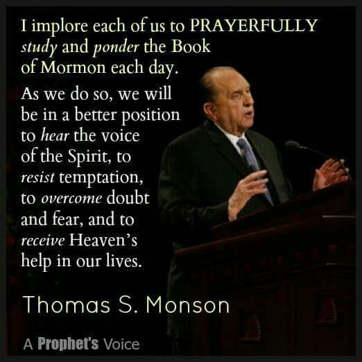 Image Result For The Power Of The Book Of Mormon Thomas S Monson