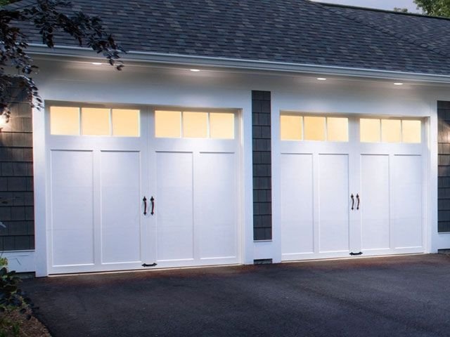 the winning doors minus the black hardware coachman residential clopay garage doors - Clopay Garage Doors