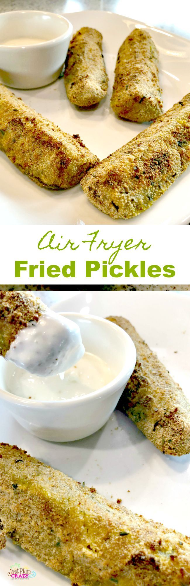 Air Fryer Pickles Recipe Air fryer recipes, Fried