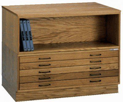 Mayline Group 5 Drawer Wood Plan File Cabinet For 24 X 36 Inch Sheets By Mayline 989 9 Used Office Furniture Home Office Furniture Office Furniture Warehouse