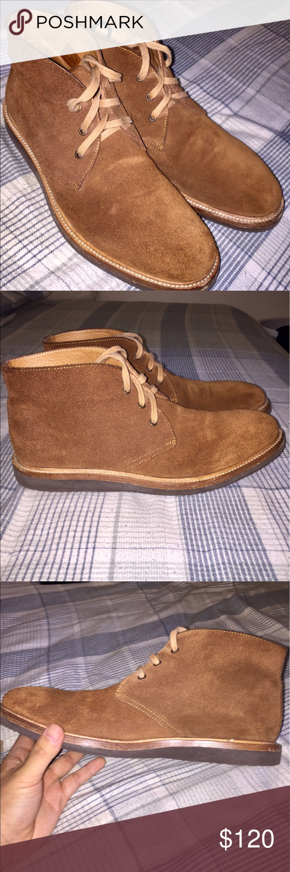 Chukka/Desert Boots 8/10 condition. Ask me any question Crosby Square Shoes Chukka Boots