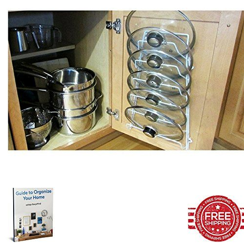 Pot Lid Rack Door Cabinet Mounted Storage Slide Wall Mount Hanging Holder Frame Cupboard Organizer E Book By Easy 2 Find