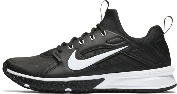 2c241f74392e0f Nike Alpha Huarache Turf Men s Baseball Shoe Size 7.5 (Black ...