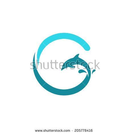 Sign the letter g dolphin on the wave water animal icon abstract sign the letter g dolphin on the wave water animal icon abstract alphabet altavistaventures Images